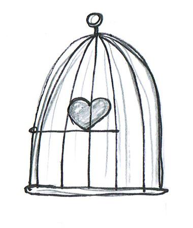 serce zamknięte w klatce