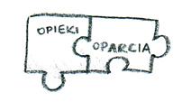 puzzle z napisami opieka i oparcie