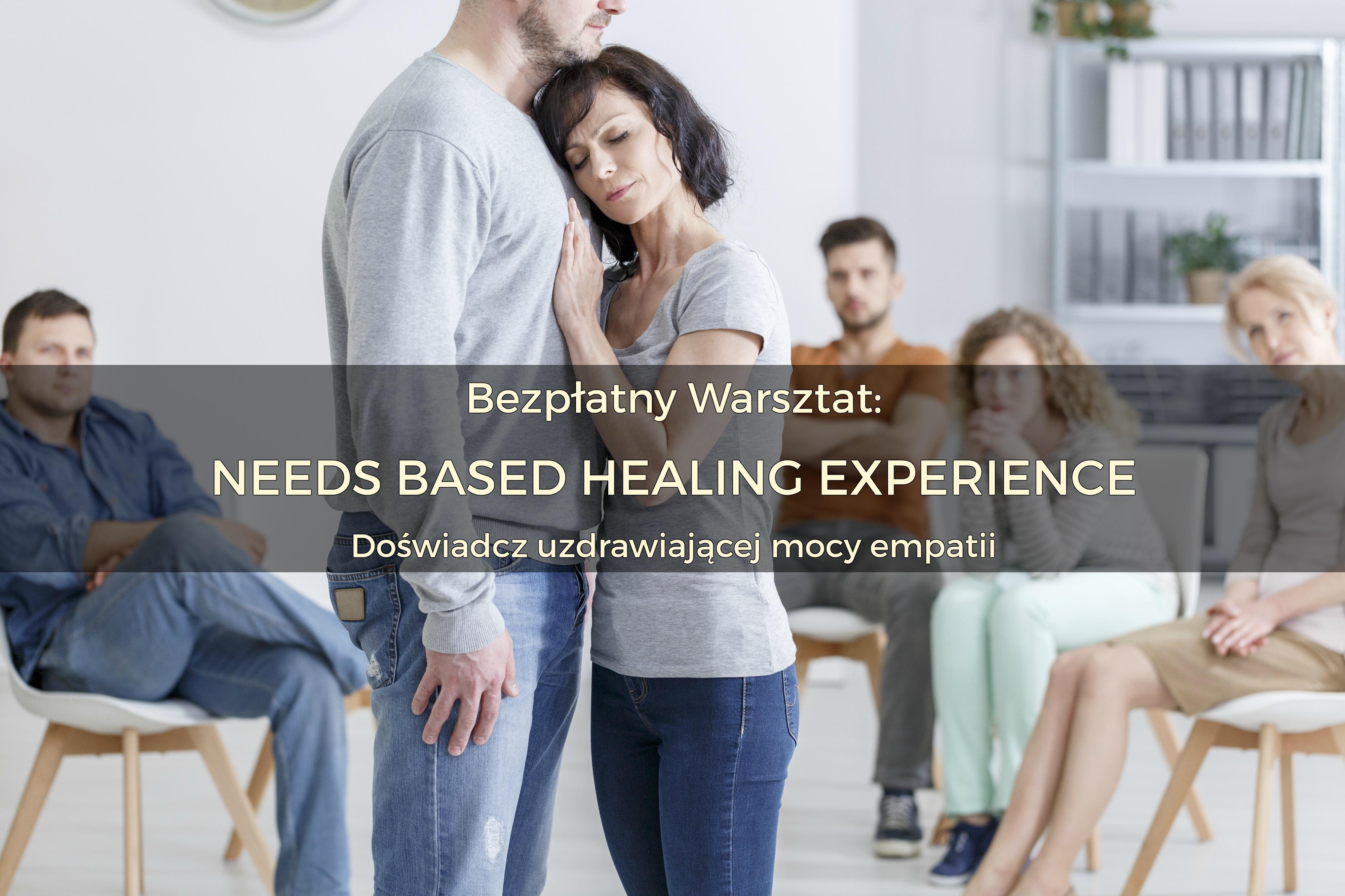 Bezpłatny 2h warsztat: Needs Based Healing Experience | 17 stycznia 2018 | Warszawa